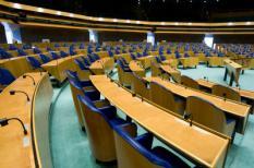 DEN HAAG - De grote vergaderzaal in het gebouw van de Tweede Kamer. ANP PHOTO XTRA KOEN SUYK