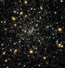 This Hubble Space Telescope image shows a view of the core of one of the nearest globular star clusters, called NGC 6397 located 8,200 light-years away in the constellation Ara, released 07 August, 2003. The stellar density is about a million times greater than in our Sun¬s stellar neighborhood. The stars are only a few light-weeks apart, while the nearest star to our Sun is over four light-years away. The ancient stars are so crowded together that a few of them inevitably collide with each other once in a while. Even so, collisions only occur every few million years.EPA PHOTO/EPA/NASA/HUBBLE HERITAGE TEAM HO
