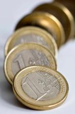 ZOETERMEER - De koers van de euro wankelt.ANP  XTRA LEX VAN LIESHOUT