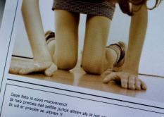 HAARLEM - Screenshot van een pro-anorexiasite, waarop jonge meisjes elkaar tips geven om snel af te vallen. Ex-anorexiapatient Scarlet Hemkes biedt de Kamer dinsdag een petitie aan met meer dan 10.000 handtekeningen. Volgens haar moeten de sites uit de lucht. ANP PHOTO XTRA KOEN SUYK