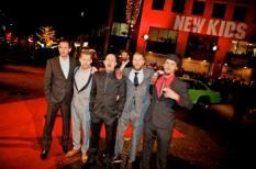 EINDHOVEN - De cast van New Kids Nitro  op de rode loper bij de premiere in Eindhoven van de nieuwe film New Kids Nitro van producent Reinout Oerlemans. ANP KIPPA LEVIN DEN BOER