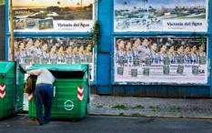 ROSARIO - Op billboards in het Argentijnse Rosario prijken afbeeldingen van het Argentijnse dameshocketeam. Argentinie speelt zaterdagavond tegen Nederland in de halve finale van de Champions Trophy.  ANP XTRA KOEN SUYK