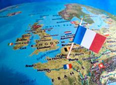 ZOETERMEER - **ILLUSTRATIE** Landenvlag van Frankrijk. ANP XTRA LEX VAN LIESHOUT