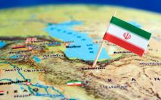 Landenvlag van Iran. ANP XTRA LEX VAN LIESHOUT
