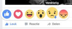 De vijf nieuwe emoticons op Facebook