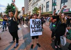 USA BLACK LIVES MATTER PROTEST