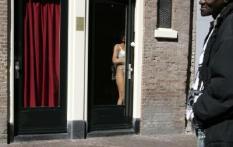 NLD-20040423-AMSTERDAM: Raamprostitutie op de Wallen in Amsterdam. ANPFOTO TOUSSAINT KLUITERS