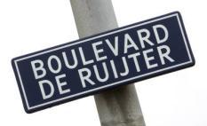 VLISSINGEN - Boulevard genoemd naar zeeheld Michiel Adiaansz. de Ruyter. ANP PHOTO KOEN SUYK