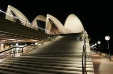 SYNDEY - Het beroemde Opera House in Sydney. ANP PHOTO MARCEL ANTONISSE