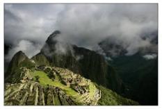 PERU - Machu Picchu. ANP PHOTO ROBIN UTRECHT