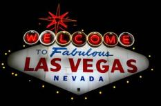 «Welcome to fabulous Las Vegas« sign. Las Vegas. Nevada. USA
