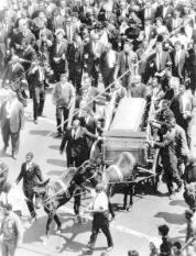 NLD-19680409-ATLANTA: De begrafenis van de vermoorde Martin Luther King. ANP FOTO/NLD-19680409-ATLANTA: De begrafenis van de vermoorde Martin Luther King. ANP FOTO
