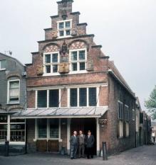 NLD-19770531-OUDEWATER: De Heksenwaag in Oudewater. Heksen uit heel Europa werden hier naar toe gebracht om hun onschuld te bewijzen na een weegproef door het stadsbestuur. Tegenwoordig is de Heksenwaag een museum. ANPFOTO RUUD HOFF.