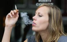 AMSTERDAM - Regina Romeijn stopt met roken als het binnenkort niet meer mag in de horeca. 'Vroeger was ik met mijn twee zussen altijd antirook, omdat onze ouders rookten en dat vonden we verschrikkelijk', vertelt de presentatrice van de NCRV in de hippe Amsterdamse uitspanning George. ANP PHOTO EVERT ELZINGA