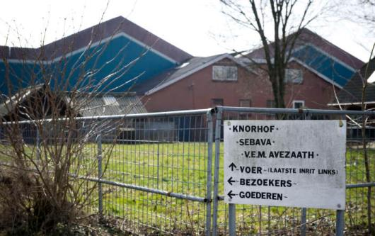 KAPEL AVEZAATH - Varkenshouderij De Knorhof in het Gelderse Kapel-Avezaath. De Brabantse Staten bespreken vrijdag ideeen uit een burgerinitiatief om veehouders forse beperkingen op te leggen bij uitbreidingsplannen. ANP XTRA LEX VAN LIESHOUT